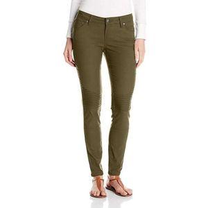Prana Brenna Pants Olive Green Skinny